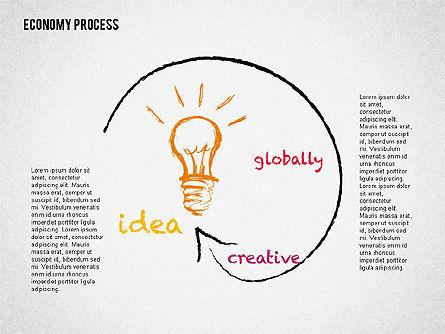 Economy Presentation Concept, Slide 4, 02075, Presentation Templates — PoweredTemplate.com