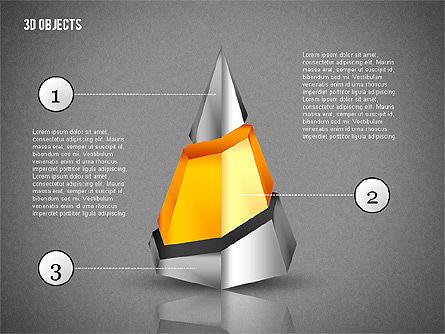 3D Composite Shapes, Slide 16, 02081, Shapes — PoweredTemplate.com