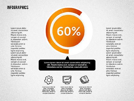 Gender Infographics, Slide 4, 02083, Business Models — PoweredTemplate.com
