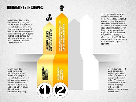 Four Steps Process Diagram, Slide 2, 02084, Process Diagrams — PoweredTemplate.com