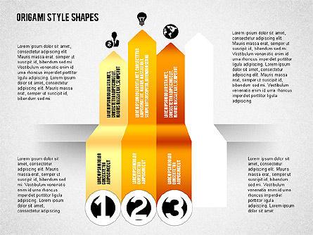 Four Steps Process Diagram, Slide 3, 02084, Process Diagrams — PoweredTemplate.com