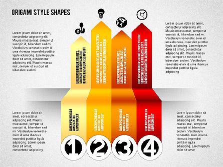 Four Steps Process Diagram, Slide 4, 02084, Process Diagrams — PoweredTemplate.com