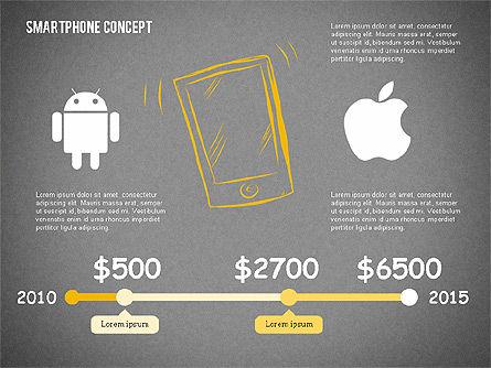Mobile Platforms Competition Infographics, Slide 11, 02089, Presentation Templates — PoweredTemplate.com