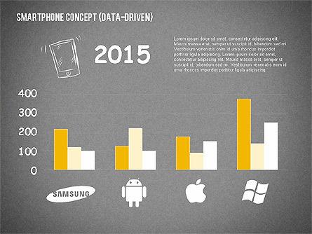 Mobile Platforms Competition Infographics, Slide 12, 02089, Presentation Templates — PoweredTemplate.com