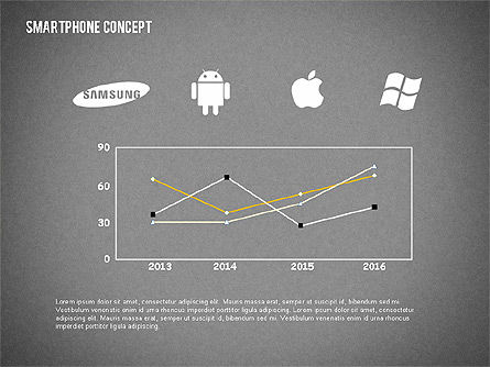 Mobile Platforms Competition Infographics, Slide 15, 02089, Presentation Templates — PoweredTemplate.com