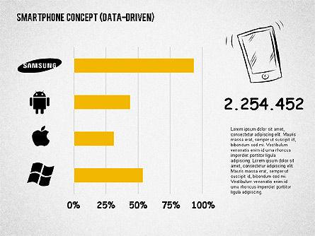 Mobile Platforms Competition Infographics, Slide 2, 02089, Presentation Templates — PoweredTemplate.com