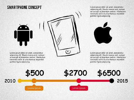 Mobile Platforms Competition Infographics, Slide 3, 02089, Presentation Templates — PoweredTemplate.com