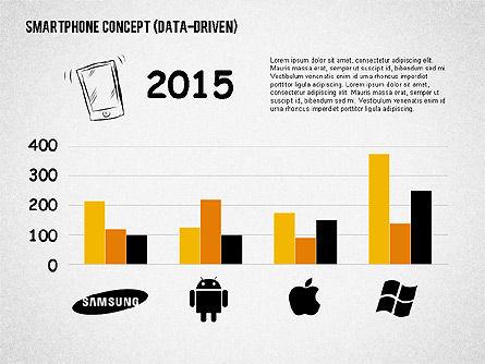 Mobile Platforms Competition Infographics, Slide 4, 02089, Presentation Templates — PoweredTemplate.com