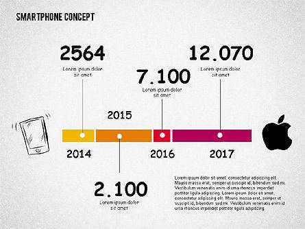 Mobile Platforms Competition Infographics, Slide 6, 02089, Presentation Templates — PoweredTemplate.com