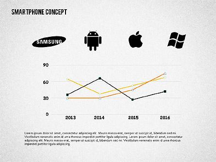 Mobile Platforms Competition Infographics, Slide 7, 02089, Presentation Templates — PoweredTemplate.com