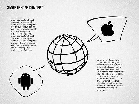 Mobile Platforms Competition Infographics, Slide 8, 02089, Presentation Templates — PoweredTemplate.com