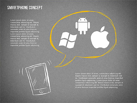 Mobile Platforms Competition Infographics, Slide 9, 02089, Presentation Templates — PoweredTemplate.com
