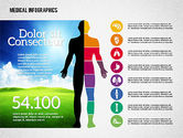 Medical Diagrams and Charts: Healthcare Infographics #02095