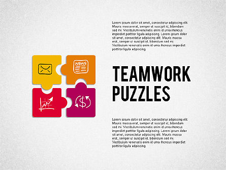 Puzzle Diagrams: Teamwork Puzzles #02098