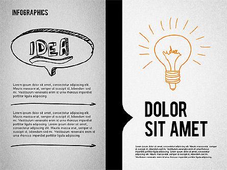 Presentation Concept in Sketch Style, Slide 2, 02102, Business Models — PoweredTemplate.com
