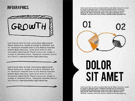 Presentation Concept in Sketch Style, Slide 3, 02102, Business Models — PoweredTemplate.com