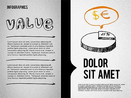 Presentation Concept in Sketch Style, Slide 4, 02102, Business Models — PoweredTemplate.com