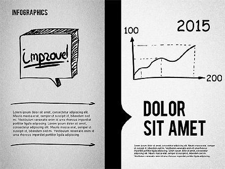 Presentation Concept in Sketch Style, Slide 7, 02102, Business Models — PoweredTemplate.com