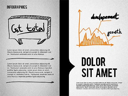 Presentation Concept in Sketch Style, Slide 8, 02102, Business Models — PoweredTemplate.com
