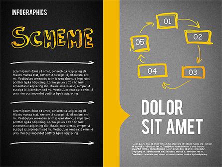 Presentation Concept in Sketch Style, Slide 9, 02102, Business Models — PoweredTemplate.com