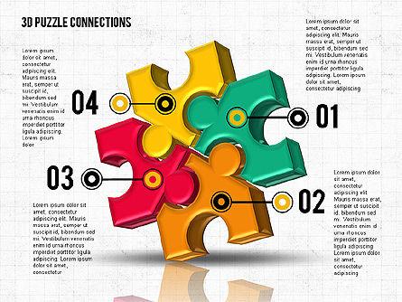 Colorful 3D Puzzle, Slide 7, 02103, Puzzle Diagrams — PoweredTemplate.com