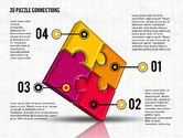 Puzzle Diagrams: Colorato puzzle 3d #02103