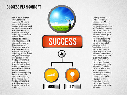 Successful Plan Presentation Concept, Slide 4, 02104, Business Models — PoweredTemplate.com