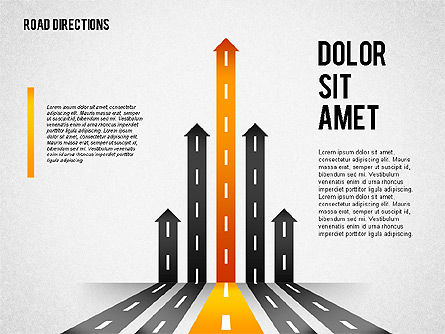 Road Options, Slide 2, 02112, Business Models — PoweredTemplate.com