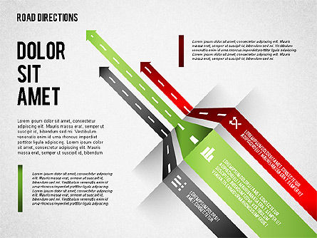 Road Options, Slide 4, 02112, Business Models — PoweredTemplate.com