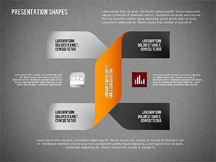 Origami Style Options and Shapes, Slide 10, 02114, Business Models — PoweredTemplate.com