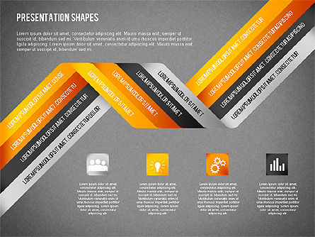 Origami Style Options and Shapes, Slide 9, 02114, Business Models — PoweredTemplate.com