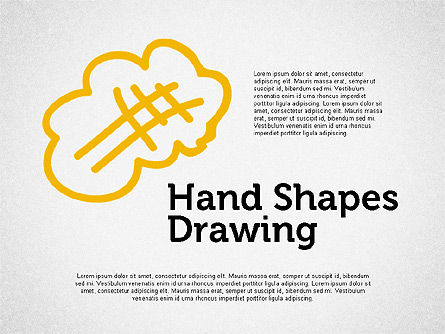 Hand Drawn Funny Character, 02116, Shapes — PoweredTemplate.com