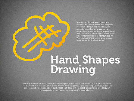 Hand Drawn Funny Character, Slide 9, 02116, Shapes — PoweredTemplate.com