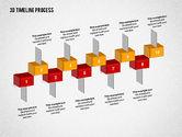 Timelines & Calendars: 3d tijdslijn proces #02121