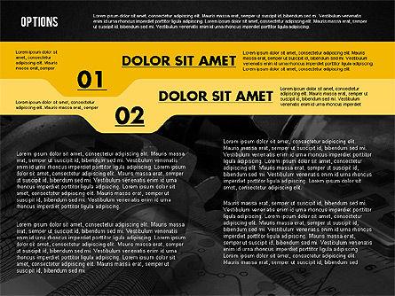 Options with Photo on Background, Slide 10, 02122, Presentation Templates — PoweredTemplate.com