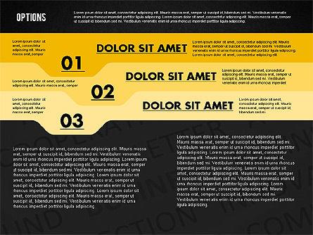 Options with Photo on Background, Slide 11, 02122, Presentation Templates — PoweredTemplate.com