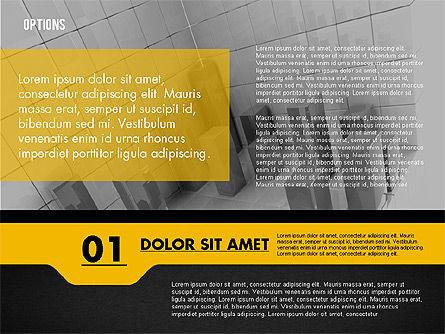 Options with Photo on Background, Slide 13, 02122, Presentation Templates — PoweredTemplate.com