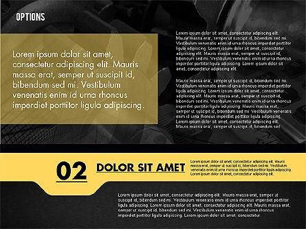 Options with Photo on Background, Slide 14, 02122, Presentation Templates — PoweredTemplate.com