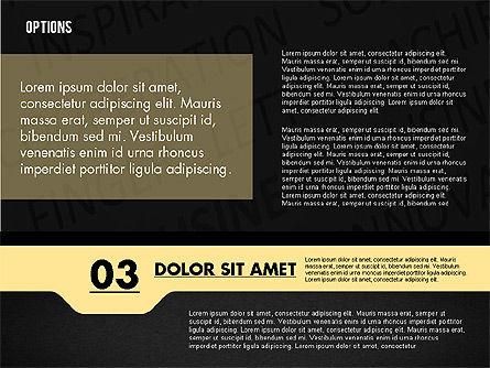 Options with Photo on Background, Slide 15, 02122, Presentation Templates — PoweredTemplate.com