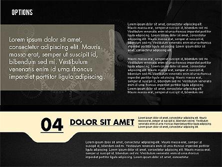 Options with Photo on Background, Slide 16, 02122, Presentation Templates — PoweredTemplate.com