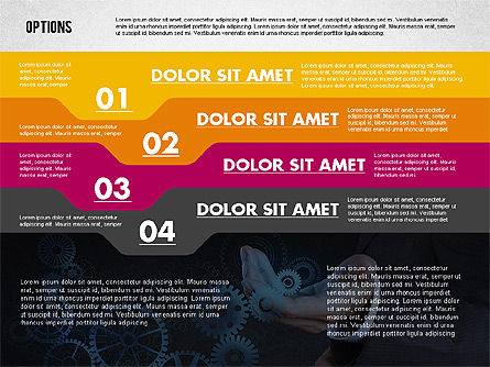 Options with Photo on Background, Slide 4, 02122, Presentation Templates — PoweredTemplate.com