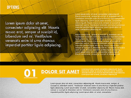 Options with Photo on Background, Slide 5, 02122, Presentation Templates — PoweredTemplate.com