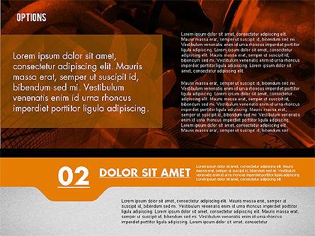 Options with Photo on Background, Slide 6, 02122, Presentation Templates — PoweredTemplate.com