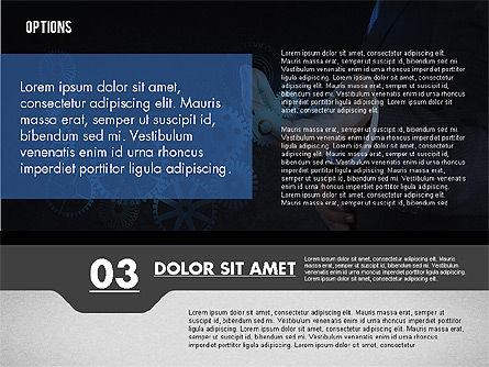 Options with Photo on Background, Slide 8, 02122, Presentation Templates — PoweredTemplate.com