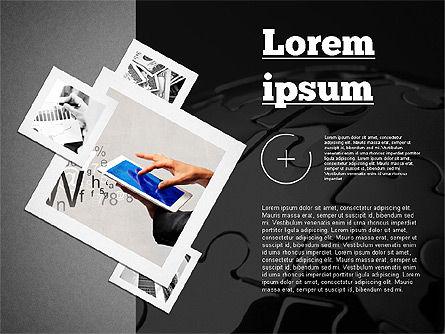 Presentation with Photos, Slide 11, 02127, Presentation Templates — PoweredTemplate.com