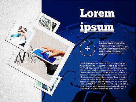 Presentation with Photos, Slide 3, 02127, Presentation Templates — PoweredTemplate.com