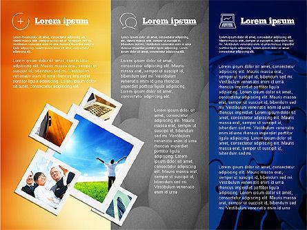 Presentation with Photos, Slide 6, 02127, Presentation Templates — PoweredTemplate.com