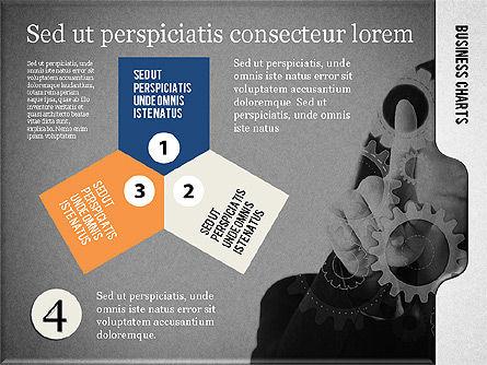 Presentation with Flat Shapes and Photo, Slide 12, 02130, Presentation Templates — PoweredTemplate.com
