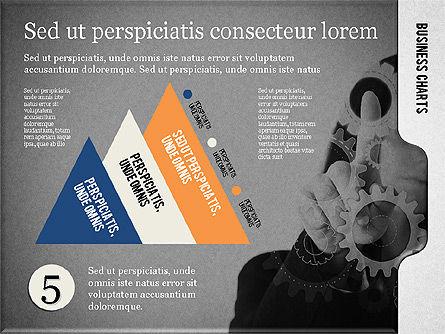 Presentation with Flat Shapes and Photo, Slide 13, 02130, Presentation Templates — PoweredTemplate.com
