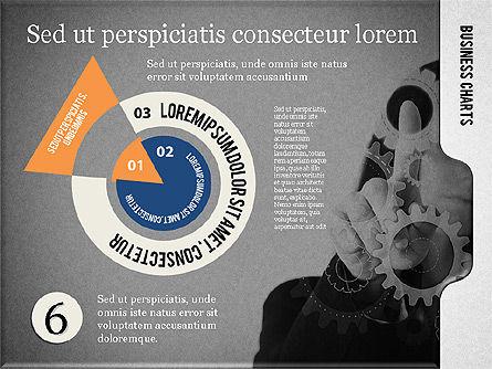 Presentation with Flat Shapes and Photo, Slide 14, 02130, Presentation Templates — PoweredTemplate.com